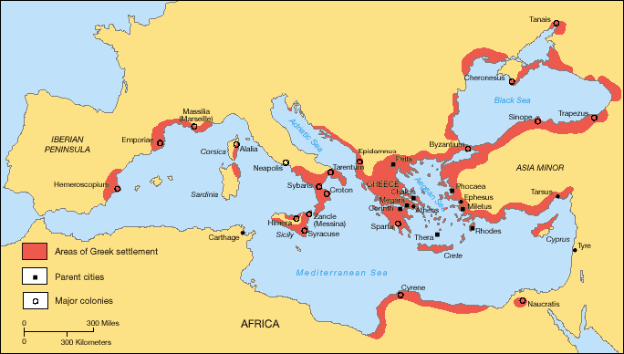 Greek Colonization Archaic Period
