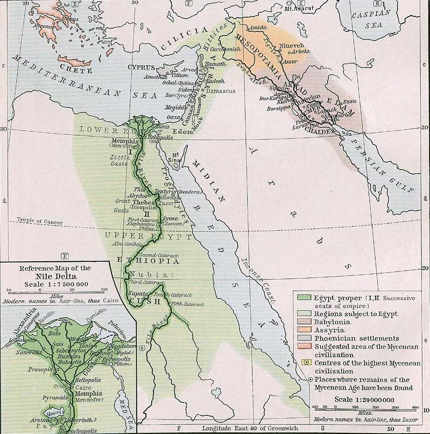 egypt syria mesopotamia 1450