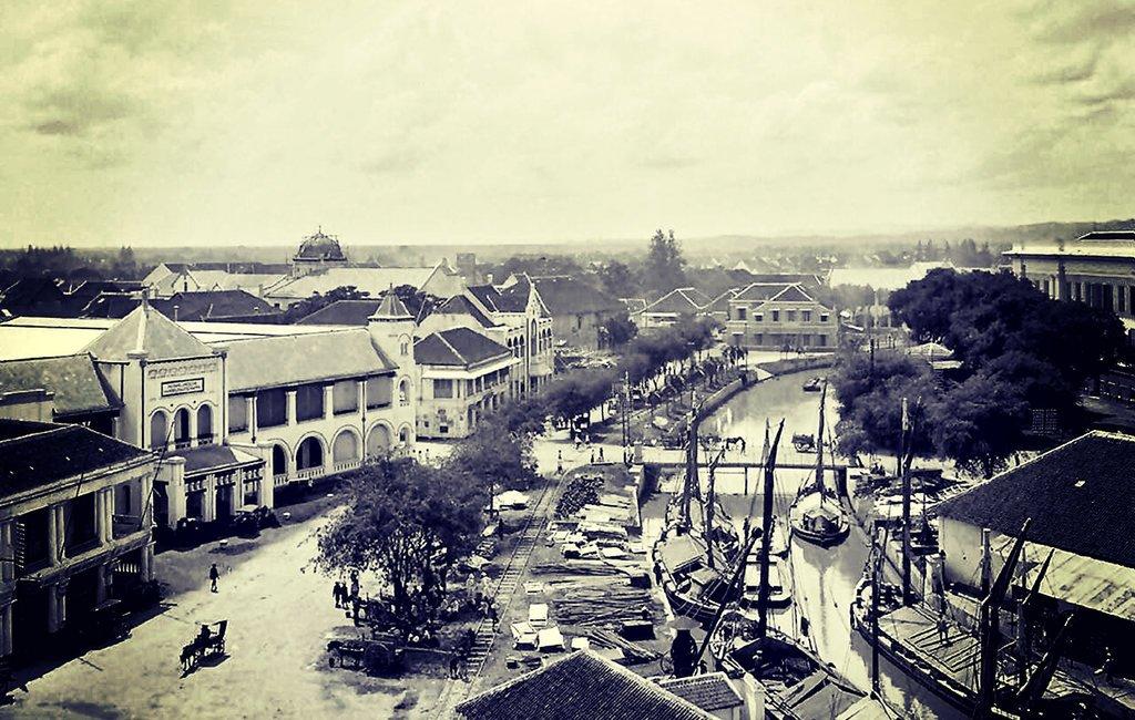 Pusat kota Semarang 1930 IST