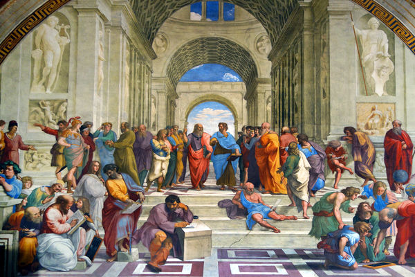 italy rome vatican museums painting 013119