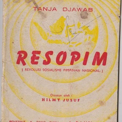 Re-So-Pim Revolusi Sosialisme Indonesia Pimpinan Nasional
