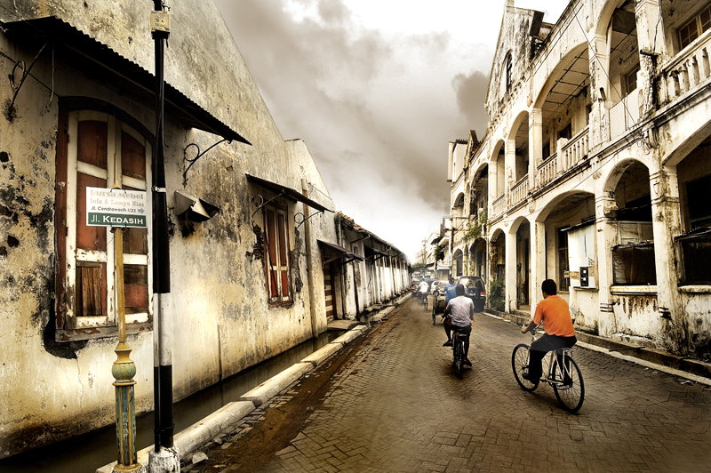 Old City in Semarang by Pandowo014