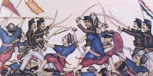 """Kekejaman Belanda pada Peristiwa """"Geger Pecinan"""" di Batavia"""