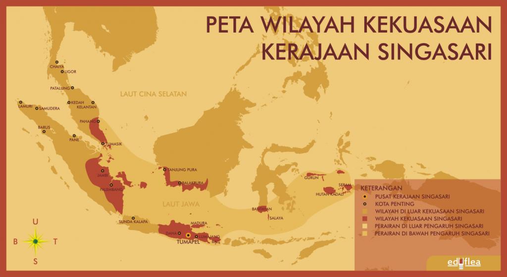 peta kerajaan singasari by hamzahzein d8j73fu