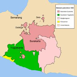 Mataram Baru 1830
