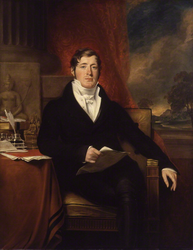George Francis Joseph   Sir Thomas Stamford Bingley Raffles