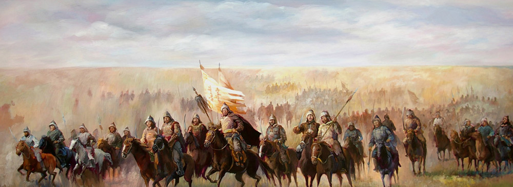 genghiskhan army