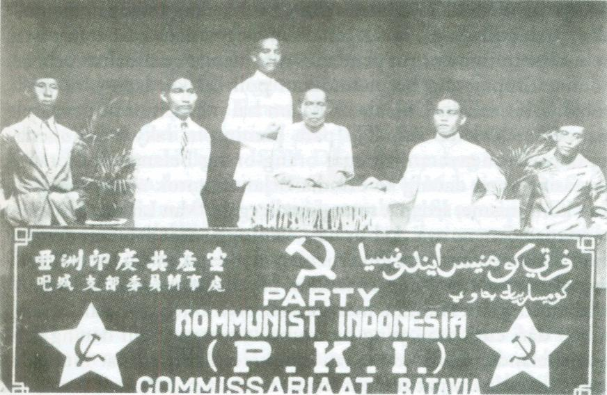 PKI 1925 Commisariate Batavia