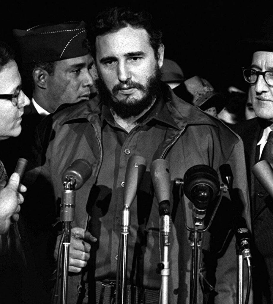 Fidel Castro MATS Terminal Washington 1959
