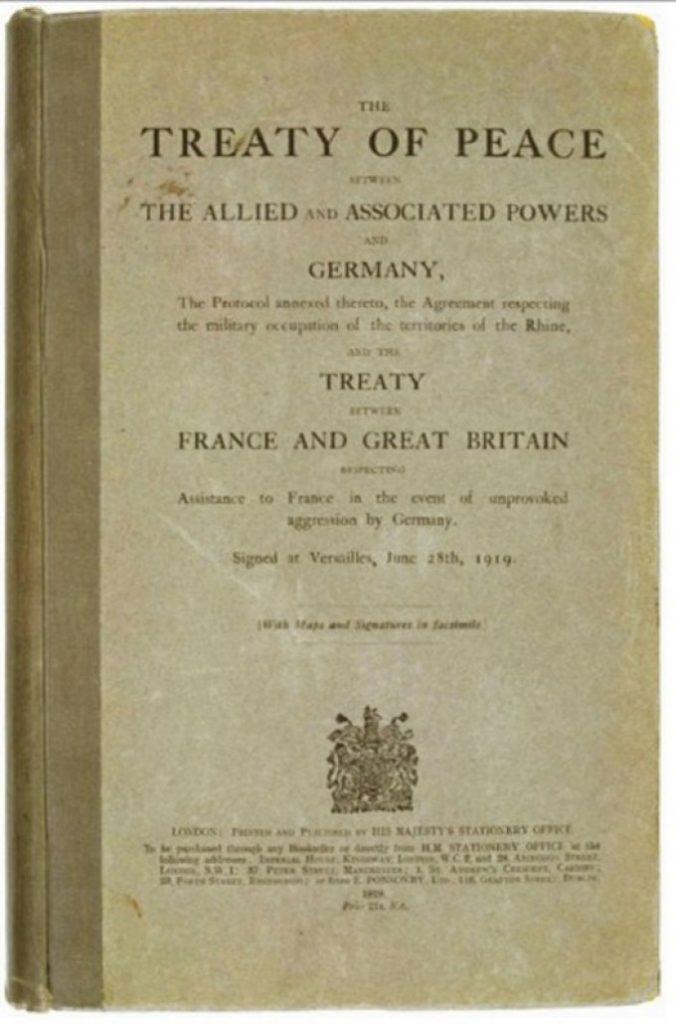 naskah perjanjian versailles