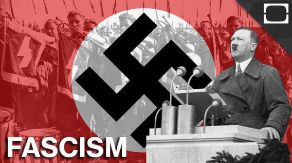 Partai Nazi yang dipimpin oleh Adolf Hitler
