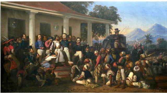 010097400 1463735120 Penangkapan Pangeran Diponegoro karya Raden Saleh
