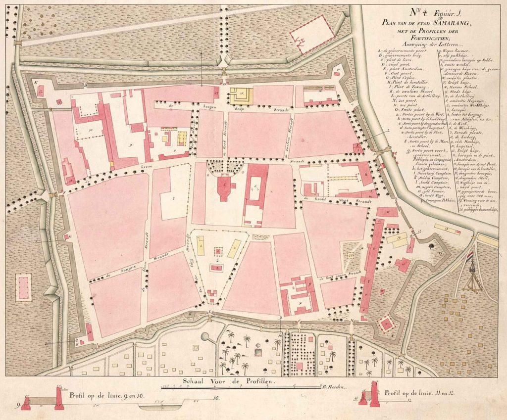 peta kota lama semarang tahun 1787copy
