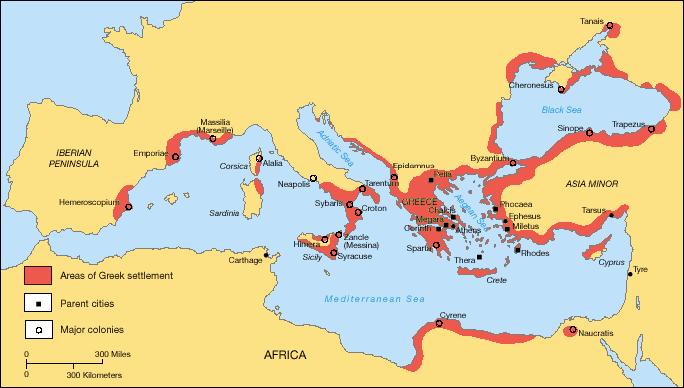 Greek Colonization Archaic Period