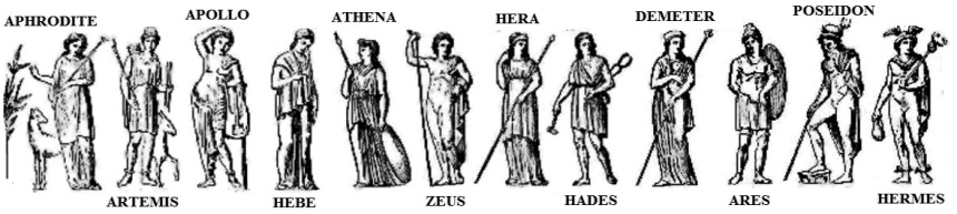 names of greek gods 2