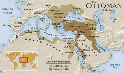 peta turki utsmani
