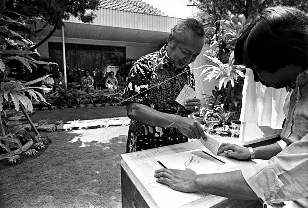 soeharto pemilu 1977 antara