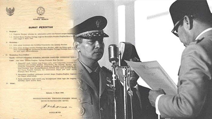 sejarah hari ini 11 maret lahirnya supersemar pembuka jalan soeharto ganti soekarno jadi presiden