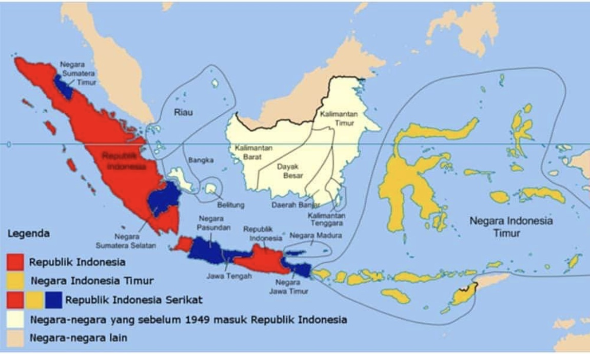 0920122020 Pict. Peta Republik Indonesia Serikat
