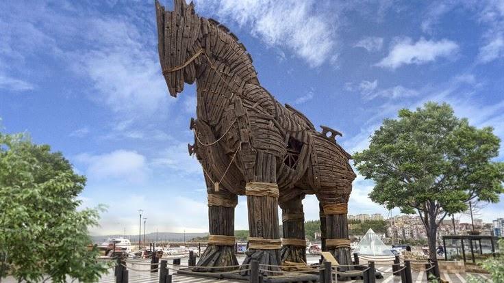 kuda troy canakkale