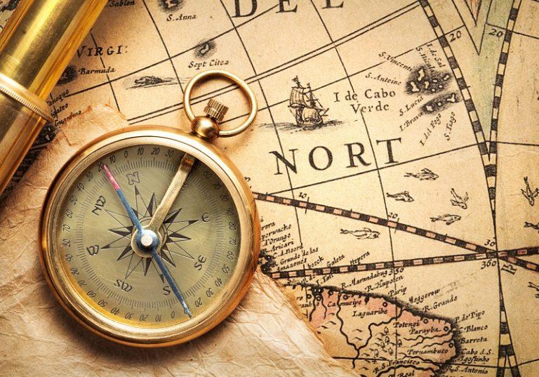 old fashioned compass E6ZET36