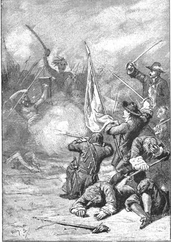 Combat In Trunajaya Rebellion   The Crown of Mataram 1890