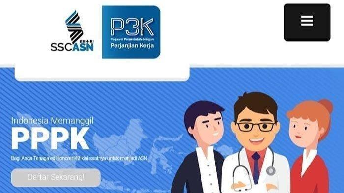 portal pendaftaran pppk atau p3k